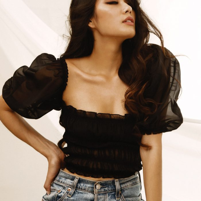 Lily Sheer Top